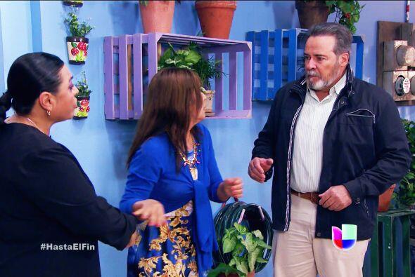 ¡Doña Lupita! Corra al hospital, su hijo la necesita.