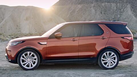Esta es la nueva Land Rover Discovery