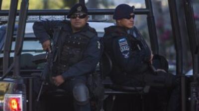 Autoridades mexicanas han desplegado uniformados en zonas de mayor confl...