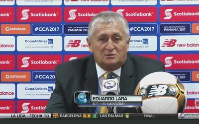 """Eduardo Lara: """"No queríamos ni debíamos perder"""""""