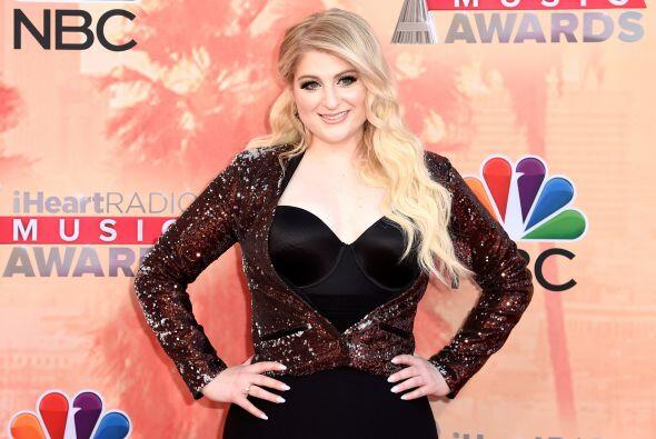 Meghan Trainor con su 'All About the Bass'.