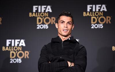 Cristiano se quedó con las ganas de ganar el Balón de Oro 2015