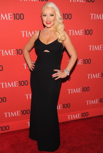 Cristina Aguilera presumió cuerpazo y se encargó de amenizar la velada c...