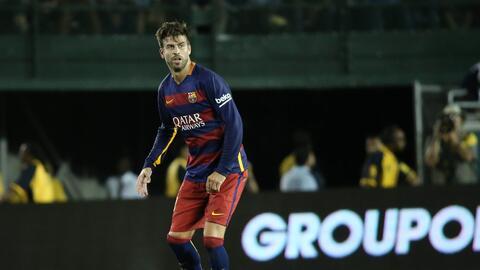 Gerard Piqué manifestó que podría jugar en la MLS a futuro.