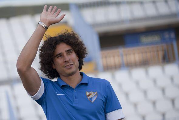 El guardameta fichó con el Málaga con el gran reto de suplir a Willy Cab...