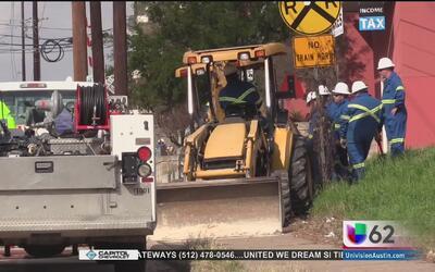 Residentes al este de Austin son evacuados por un derrame de gas