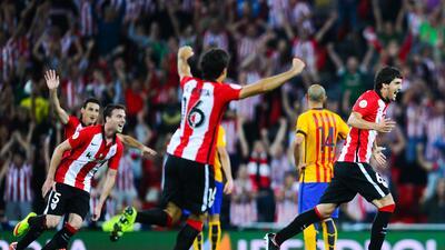 El Athletic Club le puso un baile a la defensa del Barcelona
