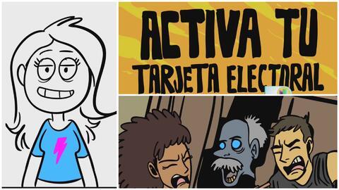 Creativo video invita a los jóvenes a votar diferente