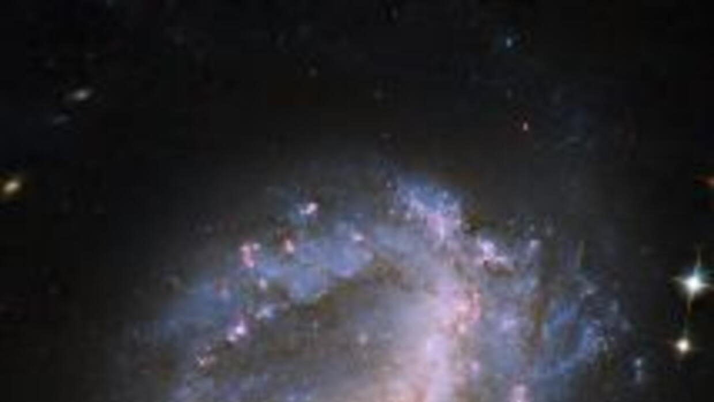 Gracias al telescopio Hubble, unos investigadores pudieron observar una...
