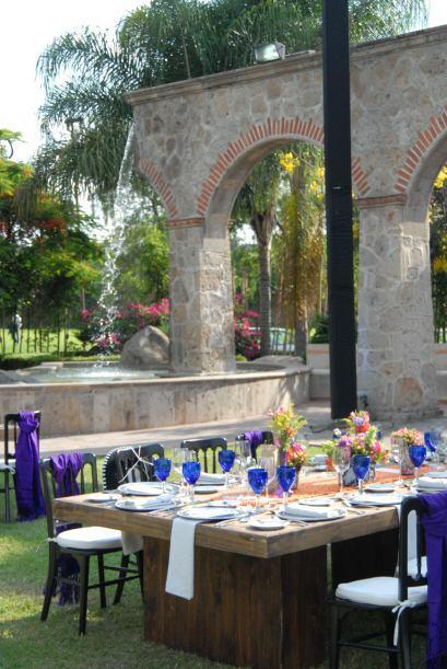 La Hacienda La Siembra fue el lugar elegido por Ana y Luis para contraer...