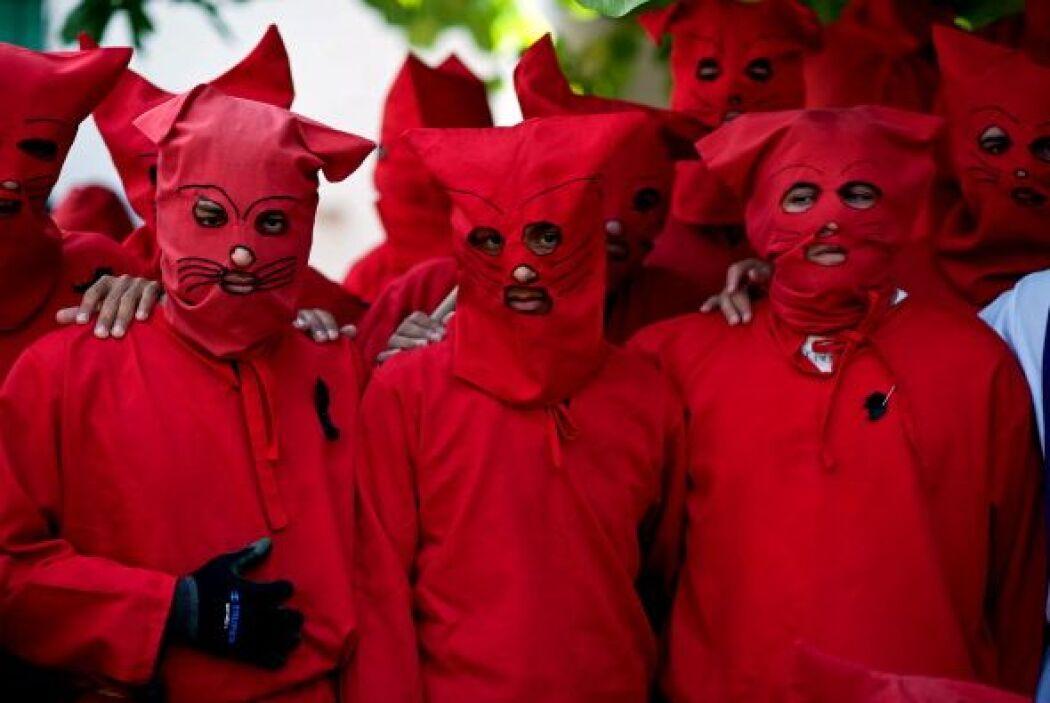 ¿Y quiénes son estos diablos? ¿Dónde celebran la Semana Santa?