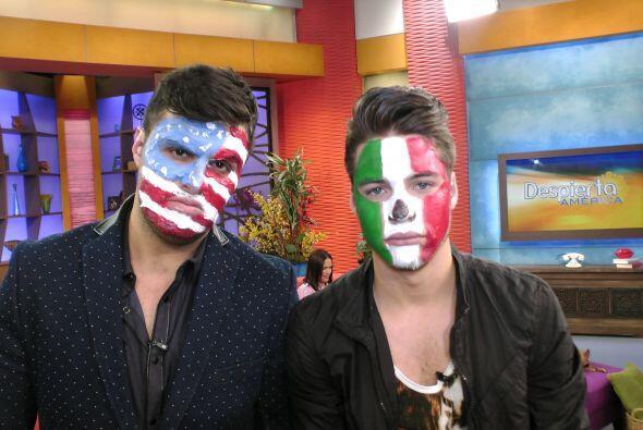 México y Estados Unidos quedaron empatados, por eso William y Paul diero...