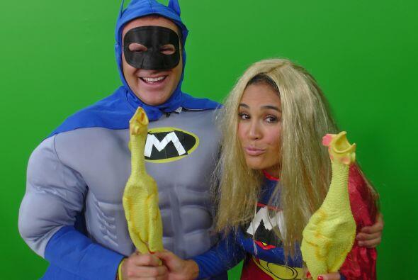Los Superhéroes también hicieron de las suyas y nos regala...