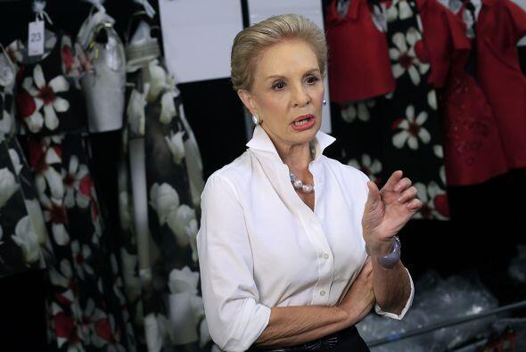 CAROLINA HERRERA: A sus 75 años, la diseñadora venezolana sigue siendo u...