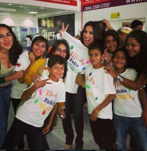 """""""Con esta sorpresa me recibieron los niños de #FundacionAmoryVida al lle..."""