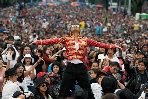 Razón de este acontecimiento fue homenajear al fallecido 'Rey del Pop'.
