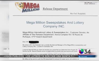 Alertan sobre fraude de la lotería a nivel nacional