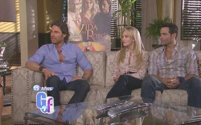 El elenco de 'Lo que la vida me robó' habló de sus personajes