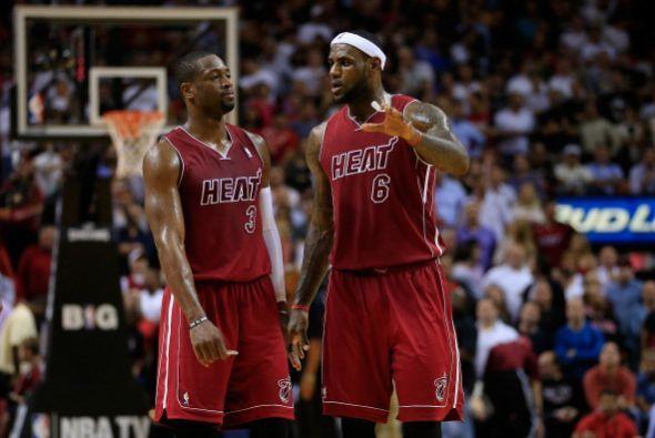 En el basquetbol de la NBA está por verse si el Heat de Miami logra su t...