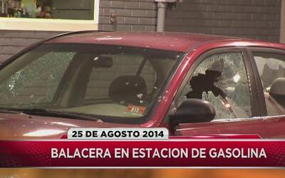 Un herido por balacera en una gasolinera de Irnvington, NJ