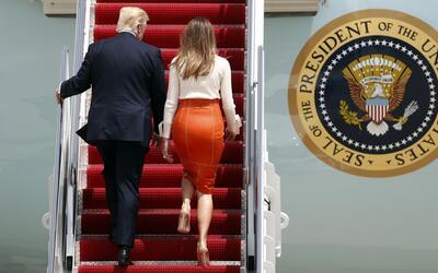 ¿Qué hará Donald Trump en su primera gira internacional como presidente?