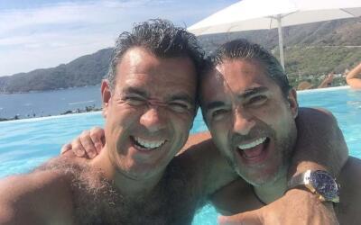 Raúl celebró a su buen amigo Héctor Sandarti.
