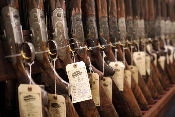 En Estados Unidos hay más de 88 armas de fuego por cada 100 habitantes y...