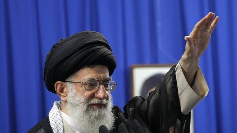 Ali Jamenei atacó la política exterior de Trump.
