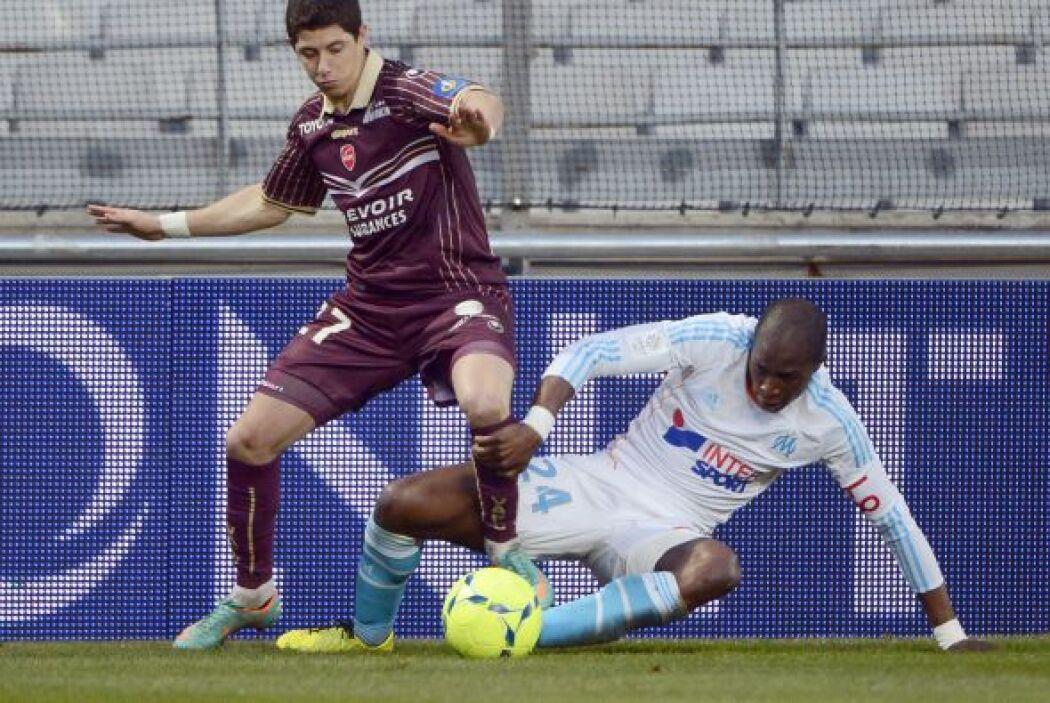 Este jugador marcó la diferencia en el duelo del Marsella recibiendo al...