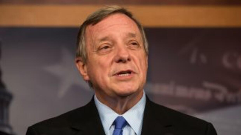 El senador demócrata por Illinois, Richard Durbin.