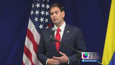 Rubio habla de Venezuela y reforma migratoria