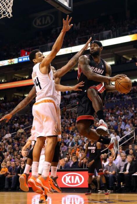 El gran LeBron James nos da un Heat con su selección de música, la cual...
