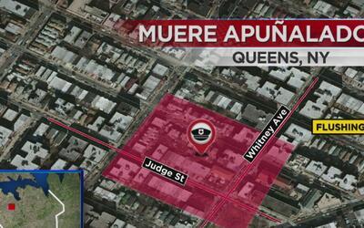 Investigan el caso de un hombre que murió apuñalado en Queens