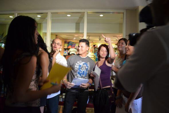 Los participantes tuvieron la oportunidad de hablar con Univision Puerto...