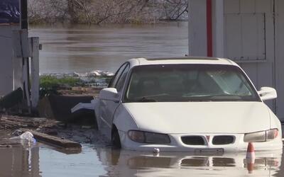 Desborde del Río San Joaquín ha causado estragos en Modesto