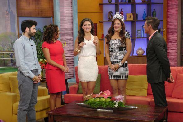 Este lunes en Despierta América le dimos la bienvenida a Aleida Ortiz.