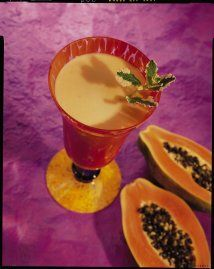 Licuado de papaya colada: La época de verano es ideal para disfrutar de...