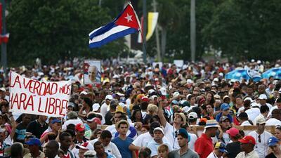 Damas de Blanco denuncian detenciones previas a la misa del Papa en Cuba