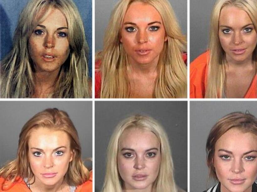Lindsay Lohan ha pisado la cárcel en varias ocasiones.