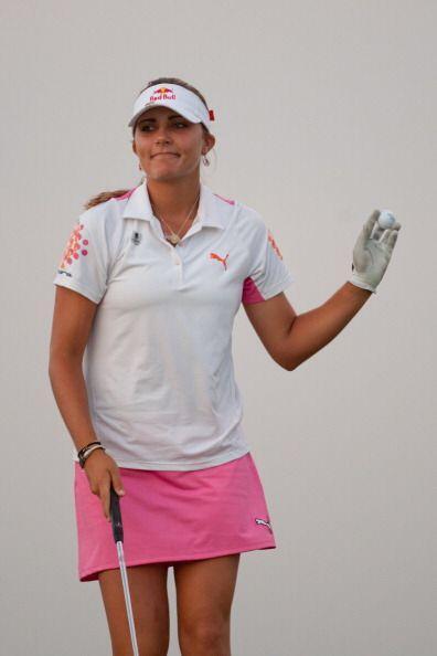 La estadounidense Lexi Thompson se convirtió en la jugadora m&aac...