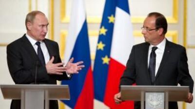 Hasta ahora, Rusia -aliado de Siria- se ha opuesto a cualquier acción fi...