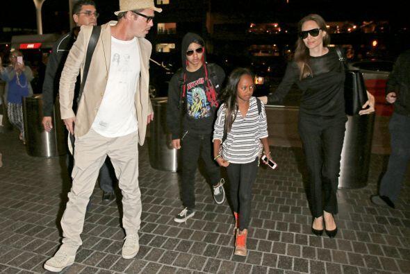 El actor muy decidido quiso ser el padre de los hijos de Angelina, junto...