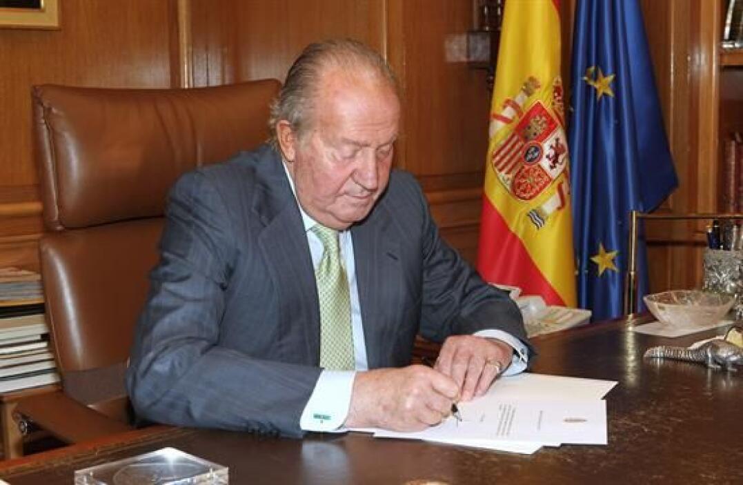 El 14 de mayo de 1977, don Juan, conde de Barcelona, jefe de la Casa Rea...