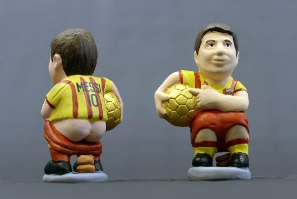 Aquí Messi en solitario