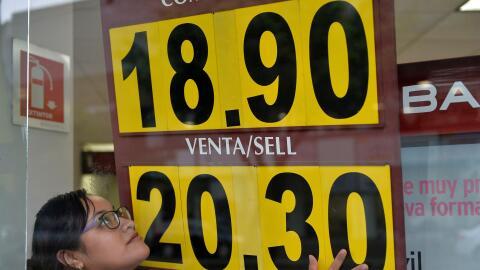 La moneda mexicana ha tenido una semana negativa.