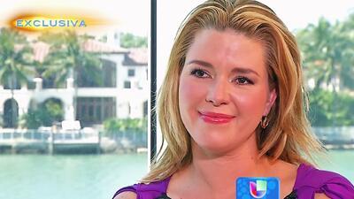 Alicia Machado respondió con silencio y lágrimas
