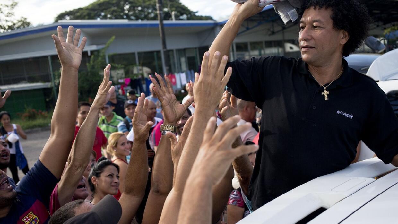 Cubanos varados en Costa Rica
