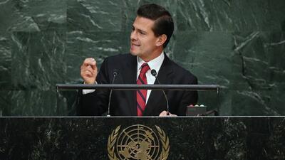 Peña Nieto asegura que México está comprometida con los derechos humanos...