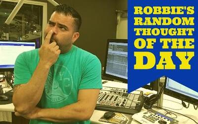 Robbie's Random Thoughts: Silent Rappers?