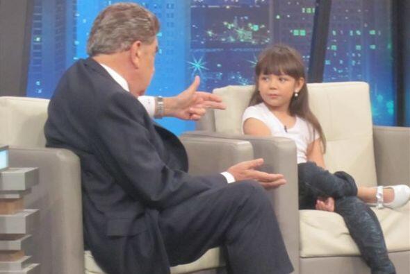 La pequeña actriz actualmente forma parte de El Show de los Peques.